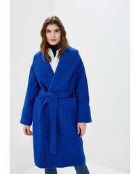 Женское синее пальто от Ruxara