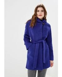 Женское синее пальто от Style national