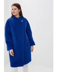 Женское синее пальто от Trifo