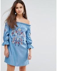 платье с открытыми плечами medium 4418243