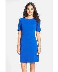 синее платье футляр original 9811432