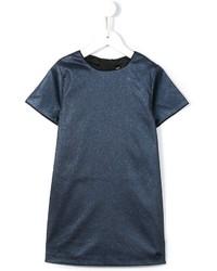 Детское синее платье для девочке от Little Marc Jacobs