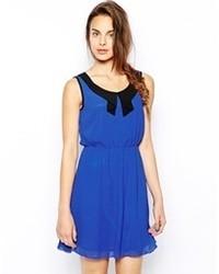34e92d0375f Купить синее шифоновое коктейльное платье - модные модели ...