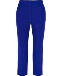 Синие брюки-галифе