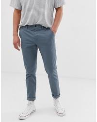 Синие брюки чинос от ASOS DESIGN