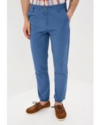 Синие брюки чинос от Baon