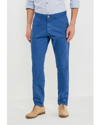 Синие брюки чинос от BAWER