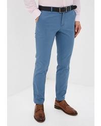 Синие брюки чинос от Bazioni