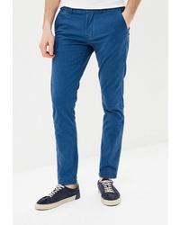 Синие брюки чинос от Colin's