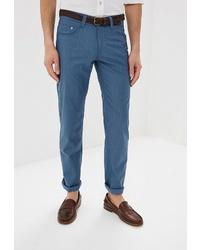 Синие брюки чинос от CUDGI