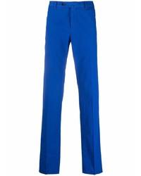 Синие брюки чинос от Pt01