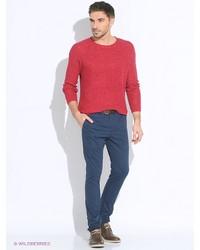 Мужские синие брюки чинос от Tommy Hilfiger