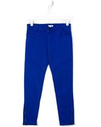 Детские синие брюки для девочке от Kenzo