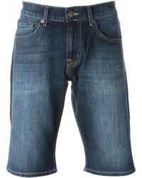 Мужские синие джинсовые шорты от 7 For All Mankind