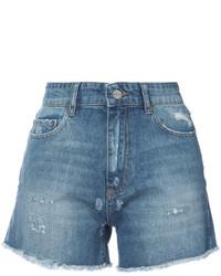 Женские синие джинсовые шорты от Anine Bing