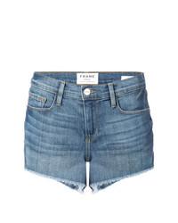Женские синие джинсовые шорты от Frame Denim