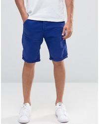 Мужские синие джинсовые шорты от G Star