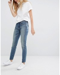 Синие джинсы-бойфренды от Blank NYC