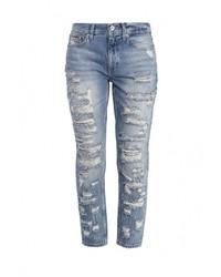 Женские синие джинсы-бойфренды от Tommy Hilfiger Denim