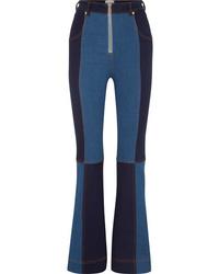 Синие джинсы-клеш от Alice McCall