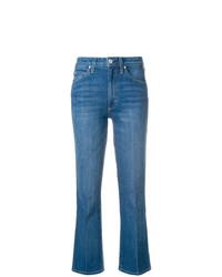 Синие джинсы-клеш от Amo