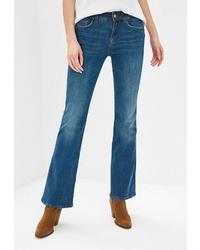 Синие джинсы-клеш от Colin's