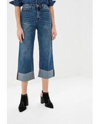 Синие джинсы-клеш от LOST INK