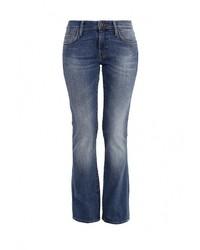 Синие джинсы-клеш от Mavi