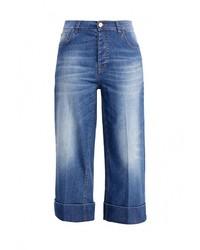 Женские синие джинсы-клеш от Pinko