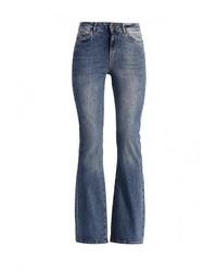 Синие джинсы-клеш от Vero Moda