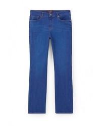 Синие джинсы-клеш от Violeta BY MANGO