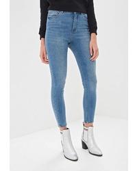 Синие джинсы скинни от Only