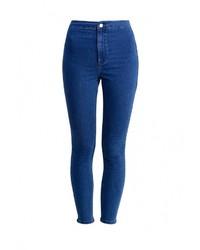 Женские синие джинсы скинни от Topshop