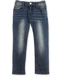 Детские синие джинсы для мальчиков от Armani Junior