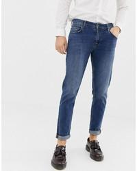 Мужские синие джинсы от ASOS DESIGN