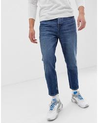 Мужские синие джинсы от Bershka