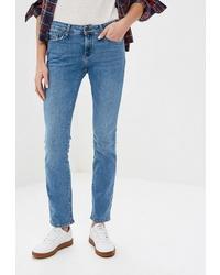 Женские синие джинсы от Colin's
