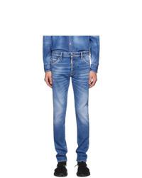 Мужские синие джинсы от DSQUARED2