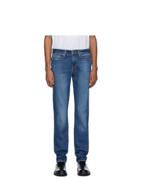 Мужские синие джинсы от Frame