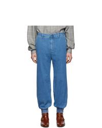 Мужские синие джинсы от Gucci