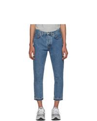 Мужские синие джинсы от Harmony