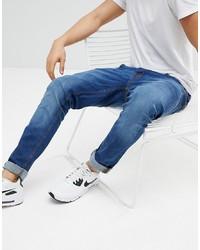 Мужские синие джинсы от Hoxton Denim