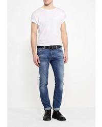 Мужские синие джинсы от Just Cavalli