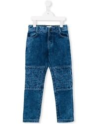 Детские синие джинсы для мальчиков от Little Marc Jacobs
