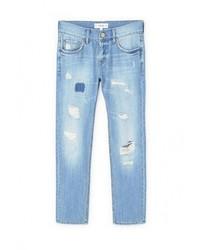 Женские синие джинсы от Mango