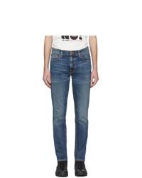 Мужские синие джинсы от Nudie Jeans