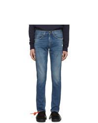 Мужские синие джинсы от Off-White
