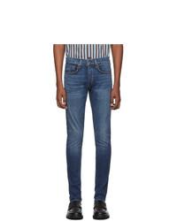 Мужские синие джинсы от Rag and Bone
