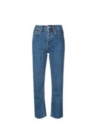 Женские синие джинсы от RE/DONE