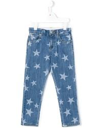 Детские синие джинсы для девочек от Stella McCartney
